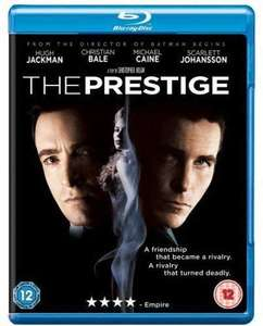 The Prestige Blu-ray £3.69 @ Amazon (+£2.99 Non-prime)