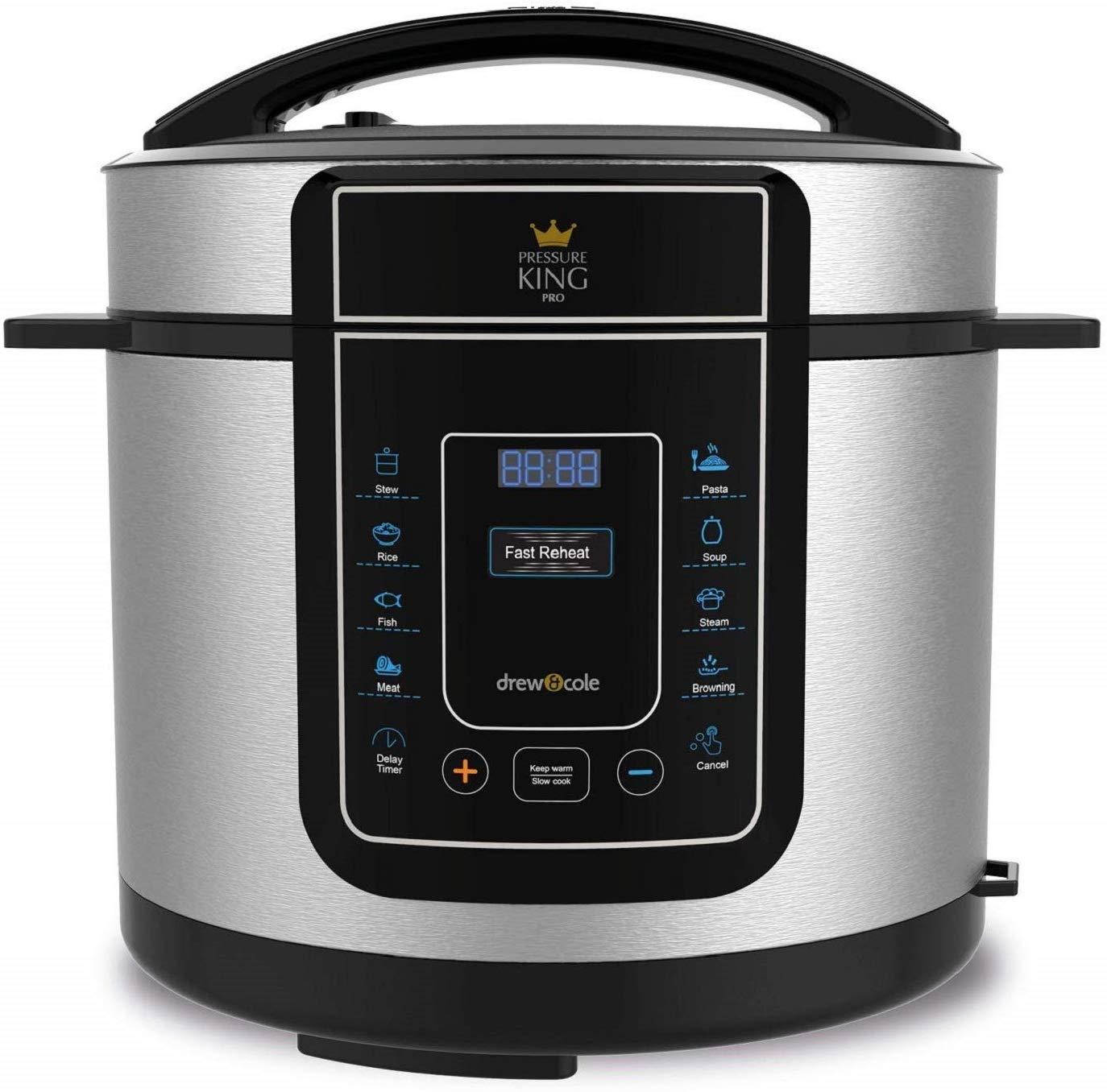 Pressure king pro 8 in 1 digital pressure cooker £25 instore @ Morrisons Walsall
