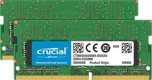 """Used - Like New"" Crucial 8GB Laptop Memory Kit (4GB x2) (DDR4, 2400 MT/s) £21.68 at Amazon France Warehouse"