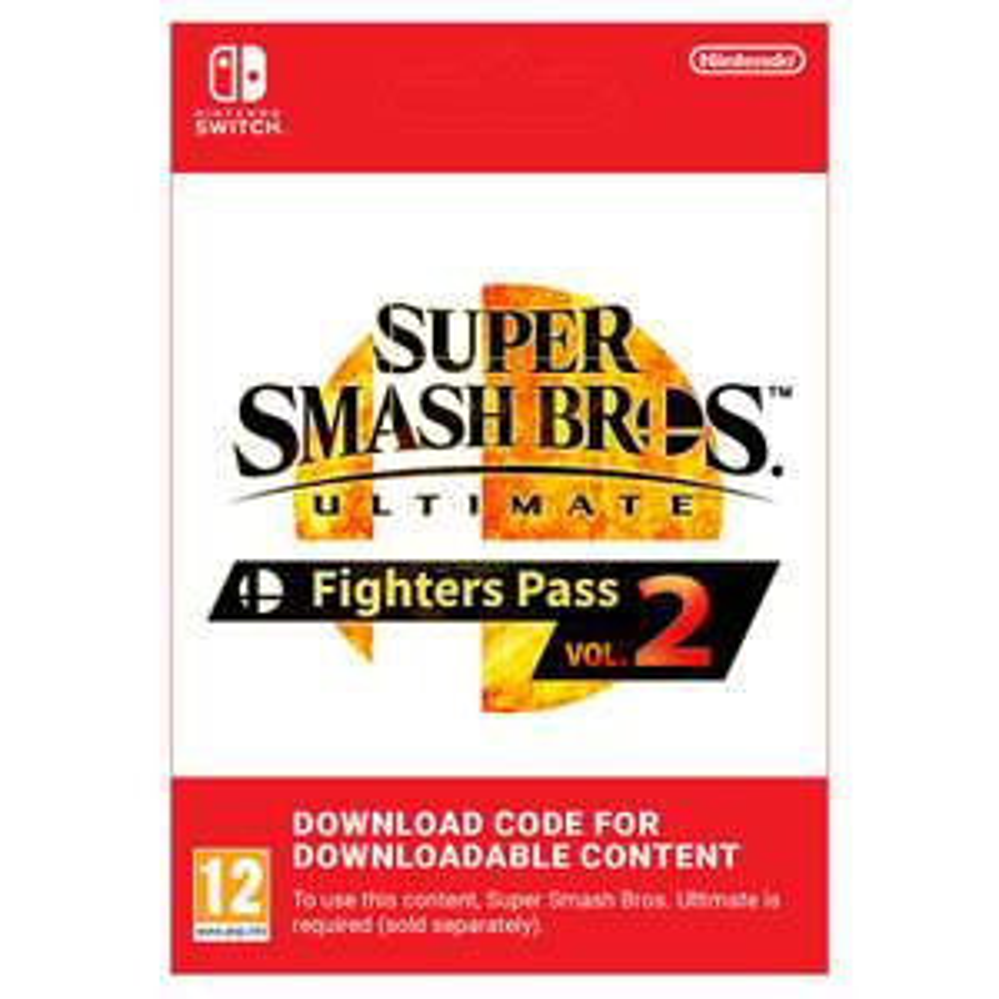 Super Smash Bros. Ultimate - Fighters Pass Vol. 2 - Nintendo Switch - £19.85 @ Shopto