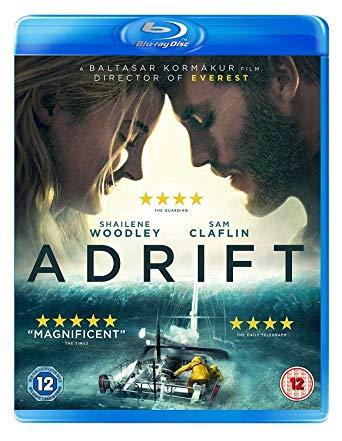Adrift [Blu-ray] [2018] £3.99 (+£2.99 Non Prime) @ Amazon