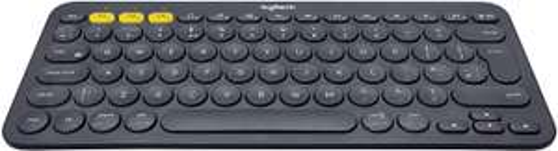 Logitech K380 Multi-Device Bluetooth Keyboard QWERTY UK Layout Black - £14.95 (Prime) / £19.44 (non Prime) @ Amazon