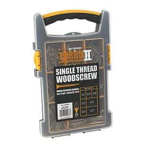 TURBO II TX or PZ TRADE PACK 850 PCS £17.50 @ Screwfix (Free Click and Collect)