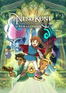 Ni No Kuni: Wrath Of The White Witch Remastered Pc (Digital Steam Key) £23.99 Bandai