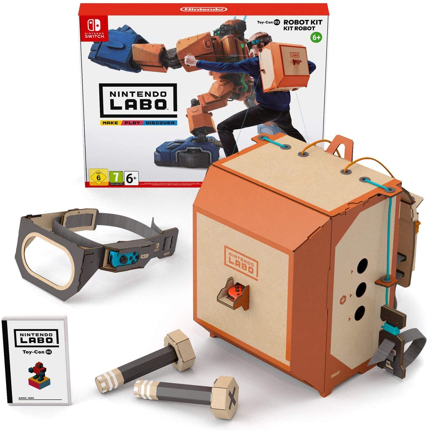 [Nintendo Switch] Nintendo Labo Robot Kit £10.99 (Prime) £15.48 (Non Prime) @ Amazon (in stock 14th February)