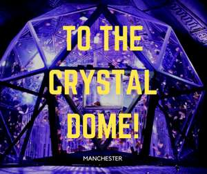 The Crystal Maze LIVE Experience - Manchester - Family ticket £84 using code @ Picniq