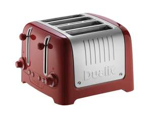 Dualit red 4 Slot Lite toaster £57.99+ £8.10 delivery Dualit Ltd
