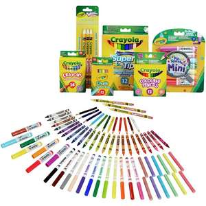 Crayola 70 Piece Stationery Set £10 each or Two for £15 @ Argos (Free Click & Collect)