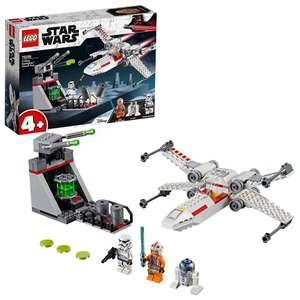 LEGO 75235 Star Wars X-Wing Starfighter Trench Run now £17.99 (Prime) + £4.49 (non Prime) at Amazon