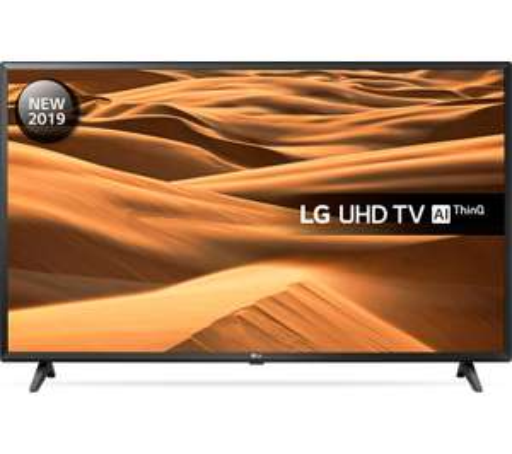 "LG 43UM7000PLA 43"" Smart 4K Ultra HD HDR LED TV £279 @ Currys PC World"