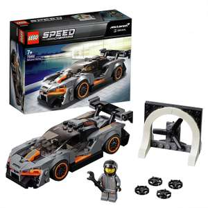 2 for £15 on selected Lego, LEGO Speed Champions McLaren Senna Model Toy Car £13. each or 2 for £15 + Free C&C From Argos