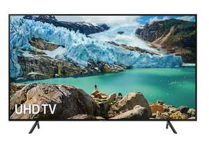 """Samsung UE50RU7100 (2019) HDR 4K Ultra HD Smart TV, 50"""" with TVPlus & Apple TV App, £379 / £303.20 with Unidays at Samsung"""
