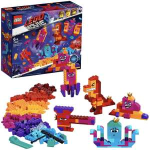 LEGO 70825 Movie 2 Queen Watevra's Build Whatever Box Construction Toy £9.99 (Prime) / £14.48 (Non Prime) delivered