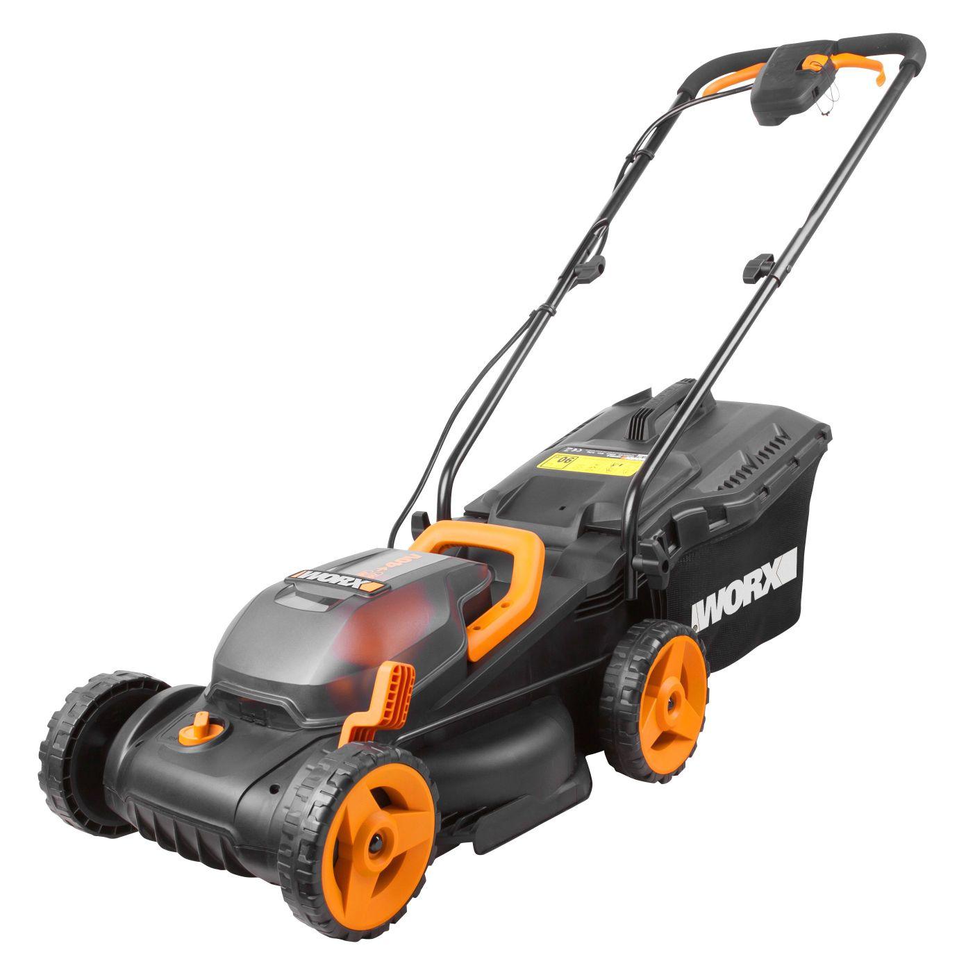 Worx Cordless Lawn Mower WG779E.1 £90 @ B&Q