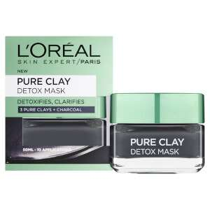 Up to 30% off L'oreal products + 15% extra off with code + Free Delivery + Free Gift , Pure Clay Detox Mask £4.76 @ Look Fantastic