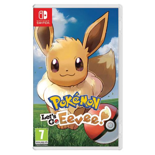 Pokémon: Let's Go, Eevee! (Switch) £35.99 Delivered @ Monster-Shop