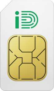 1 Month iD Mobile Sim Only - 500 Minutes, Unlimited Texts 7GB of Data for £9 per month via Carphone Warehouse
