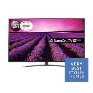 LG 49SM8600PLA 4K Nanocell TV £479 @ Very (free LG XBOOM Speaker worth £69 until 4 Feb)