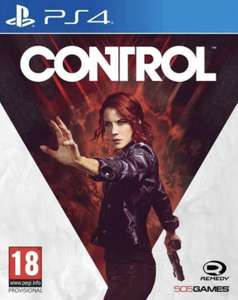Control (PS4) preowned very good condition £19.99 @ evergameuk via eBay