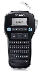 Dymo S0946320 Label Manager 160 Handheld Label Maker Qwerty Keyboard - Black/Clear £21.99 @ Amazon