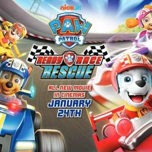 Free Screening Cinema Tickets - Paw Patrol: Ready, Race, Rescue - London - West End, VUE Friday, 31 Jan 2020 at 5:30pm @ SFF