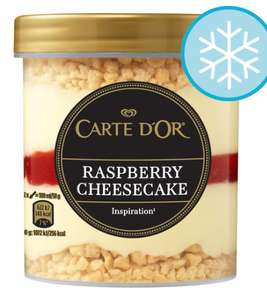 Selection of Carte Dor inspiration 430ml ice cream £1 in Heron foods - pennywell store in Sunderland