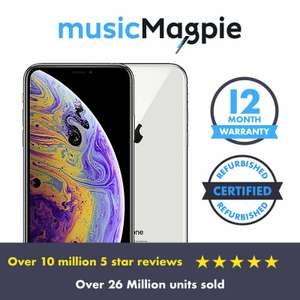 "iPhone XS Max Unlocked 64GB ""Good Condition"" £422.99 @ musicMagpie / eBay"