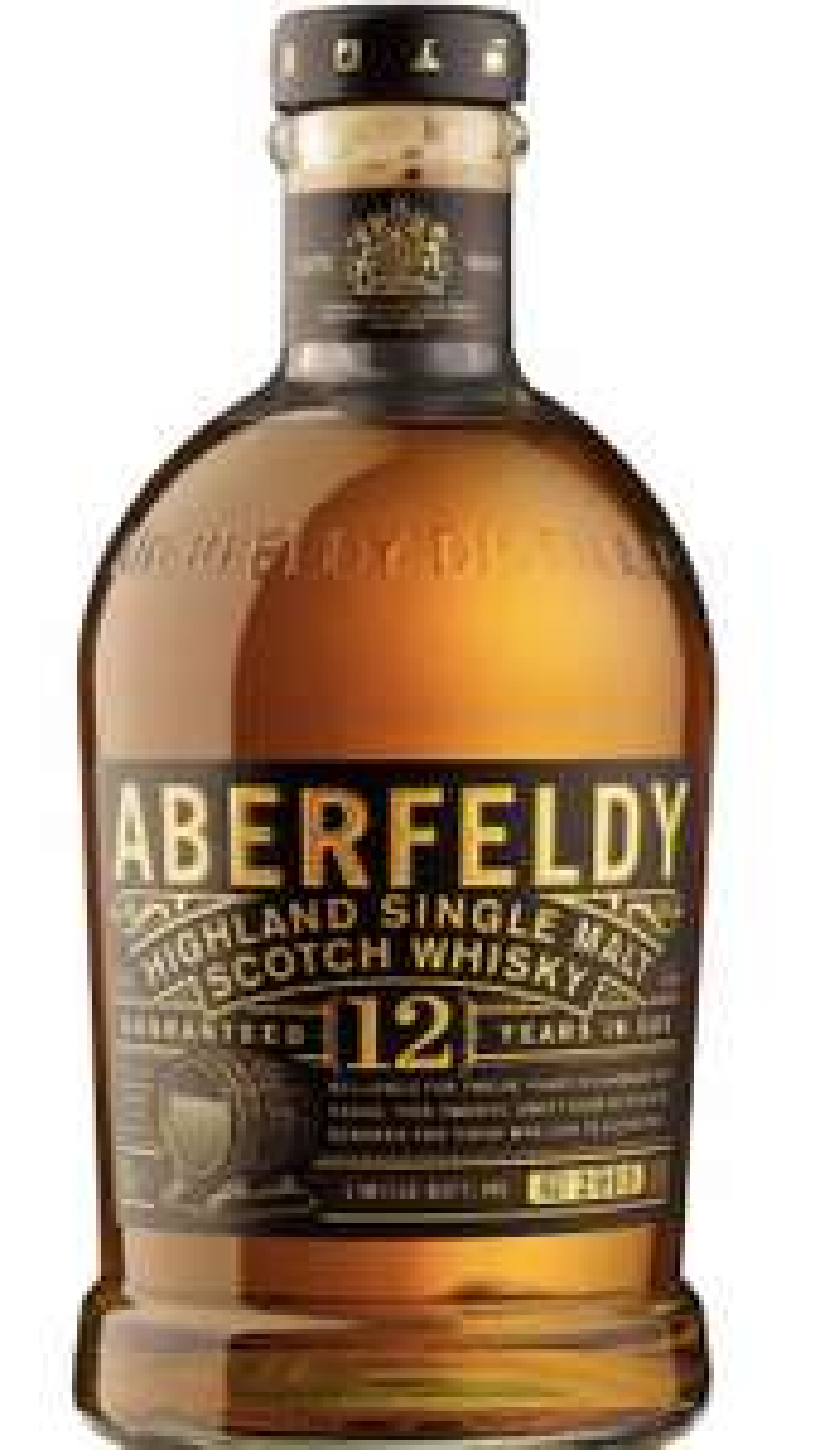 Aberfeldy 12 Year Old Single Malt Scotch Whisky, 70cl, £25 on Amazon