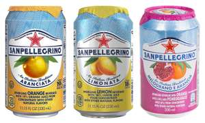 24 Cans of SanPellegrino (3 different flavours available) - £14.49 / £16.48 delivered @ Groupon