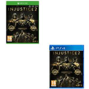 Injustice 2 Legendary Edition [Xbox One/PS4] £11.85 delivered @ Base