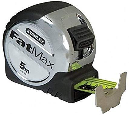 Stanley 033887 FatMax Tape Rule 5m £5.50 (Prime) £9.99 (Non-Prime) @ Amazon
