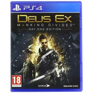 Deus Ex Mankind Divided Day One Edition PS4 for £3.89/Xbox One for £4.09 With Code Delivered @ 365games