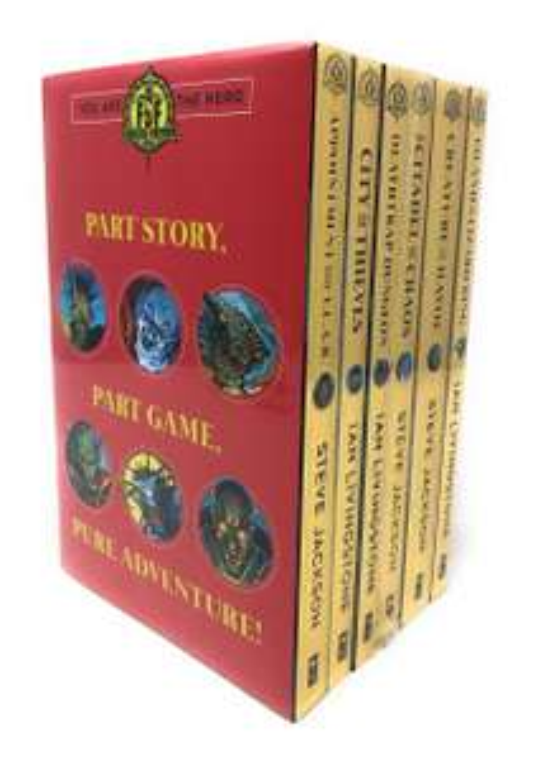 Fighting Fantasy 6 Book Box Set at £8 @ TK Maxx - In Store