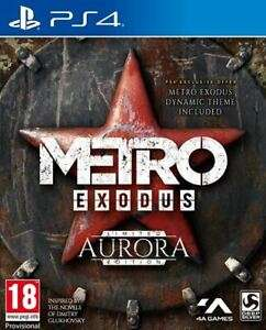 Metro Exodus Aurora Limited Edition (PS4) for £20.65 With Code Delivered @ TheGameCollection / eBay