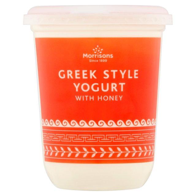 Greek Style Yogurt with Honey 450g - 90p @ Morrisons