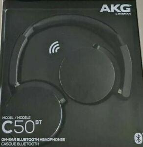 AKG Wireless Bluetooth C50BT Headphones, Black - Refurbished £31.99 @ ebay/cvtoystore