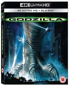 Godzilla 4k UHD + blu ray £8.99 using code @ zoom