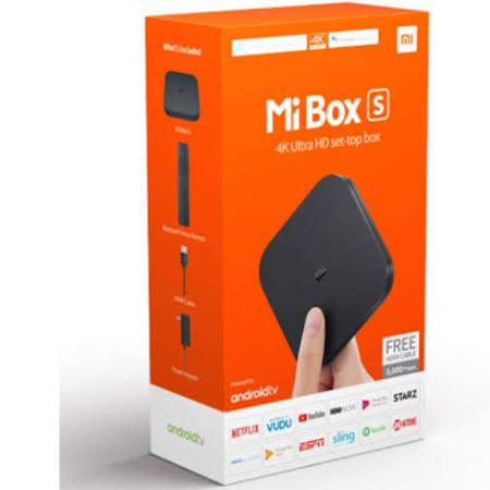 Xiaomi Mi Box S 4K ANDROID TV BOX £49.99 Delivered @ Box