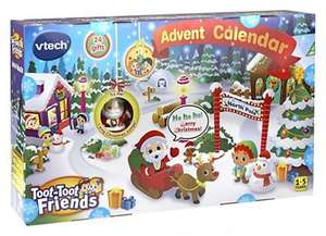 Vtech Toot-Toot Friends Advent Calendar £7.50 + £1.50 Order & Collect at Boots and others