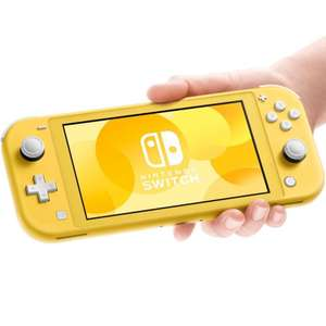 Manufacturer Refurbished Nintendo Switch Lite Console Handheld Portable Console 32GB Grey & Yellow £142.99 @ Electrical Deals