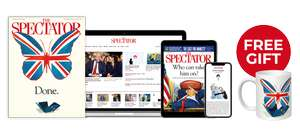 The Spectator Magazine 10 issues for the price of 1 + Free commemorative mug for £4.95