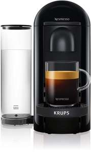 Nespresso XN903840 Vertuo Plus, Coffee Machine with 100 free coffee pods and 2 months free nespresso subscription £75 @ Amazon