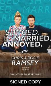 Sh**ged. Married. Annoyed. (Signed Edition) Book PREORDER for 3/9/20 £10.99 @ WHSmiths - free c&c / £2.49 delivery