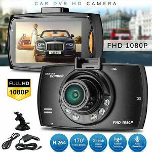 "HD 1080P 170° Angle Car Van Dash Cam DVR Recorder 2.4"" LCD With Video Camera £8.99 at evenditio eBay"
