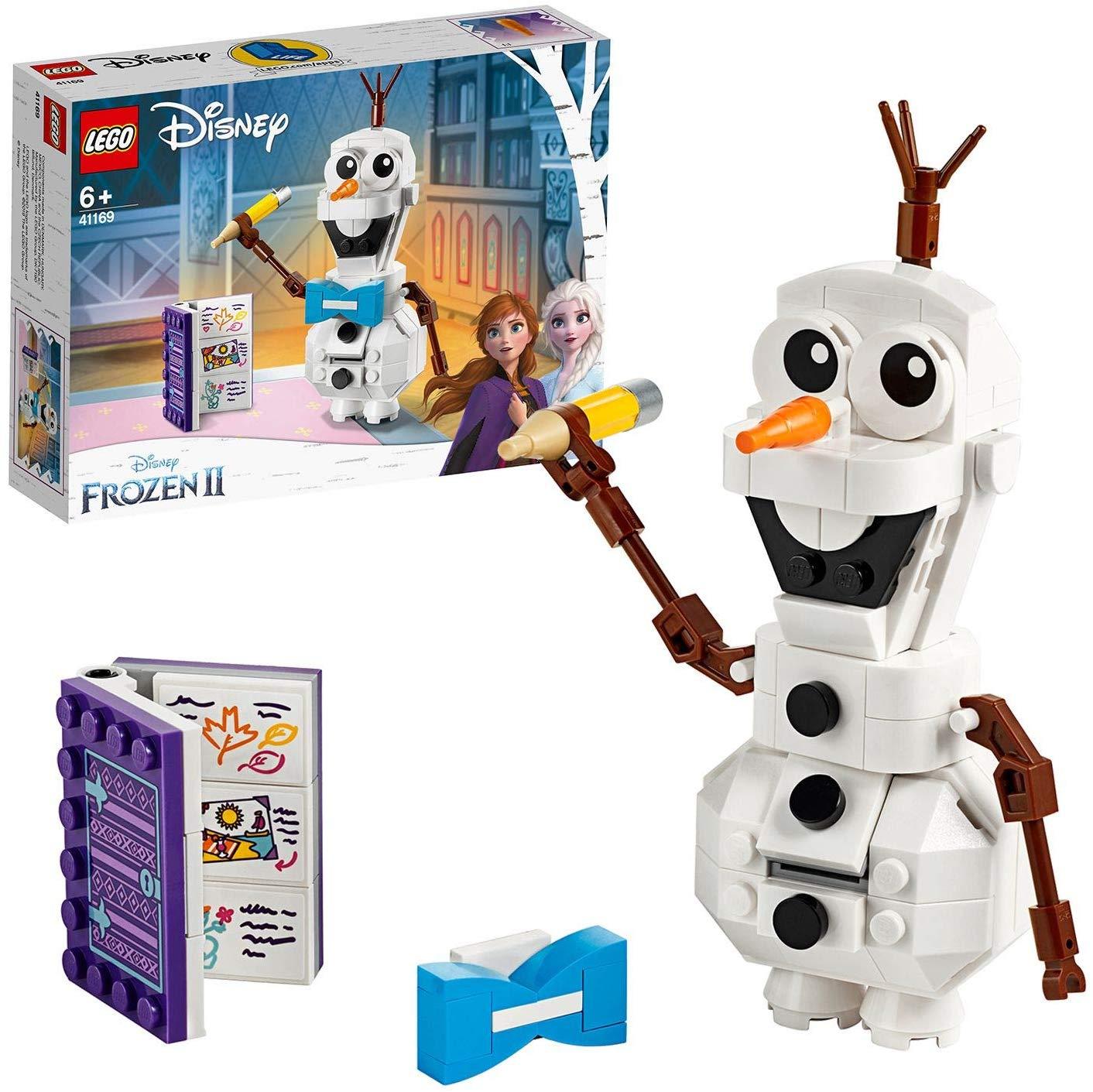 LEGO 41169 Disney Frozen II Olaf the Snowman now £8 (Prime) + £4.49 (non Prime) at Amazon