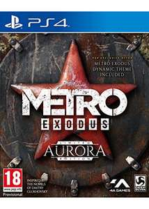 Metro Exodus Aurora Limited Edition (PS4) £19.85 Delivered @ Base