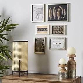 6 Photo Frames for £5.60 @ Dunelm (Free click and collect)