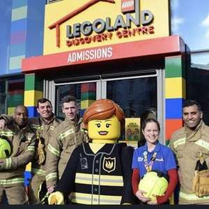 Legoland Discovery Centre Birmingham. FREE entry for Firefighters. 3rd February- 1st March 2020