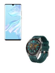 100GB DATA With Huawei Watch Active + P30 Pro Smartphone - £29 Upfront £32pm - Total £797 (O2 30GB) @ Three Via Uswitch