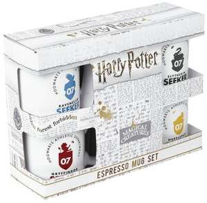 Harry Potter Licensed Quidditch Espresso Mug Set Of 4 £4.99 @ Symthstoys (Free Click & Collect)